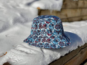 """Pigeon Flock"" Bucket Hat"
