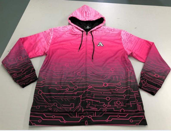 The Artistry x Tech Hoodie (Pink)