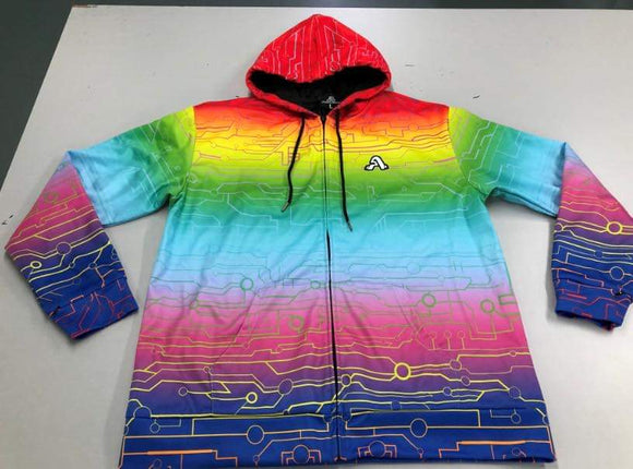 The Artistry x Tech Hoodie (Rainbow)