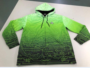 The Artistry x Tech Hoodie (Slime Green)