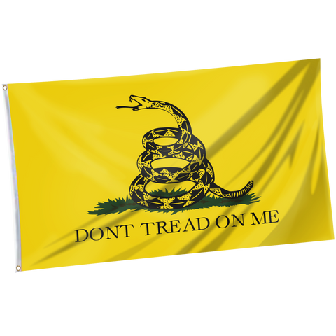 Tactical Xmas Stocking with 3x5' Gadsden Flag Dont Tread On Me