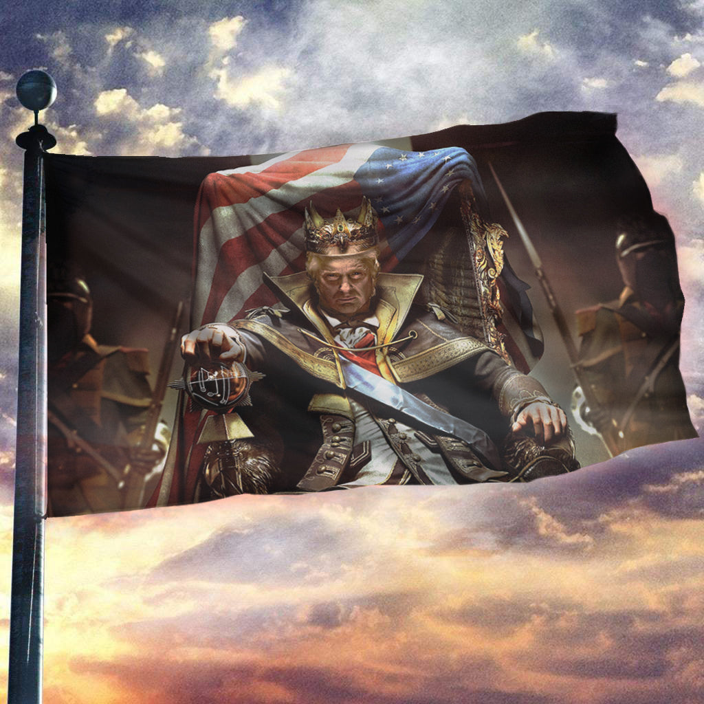 King Trump 2020 - American Flag