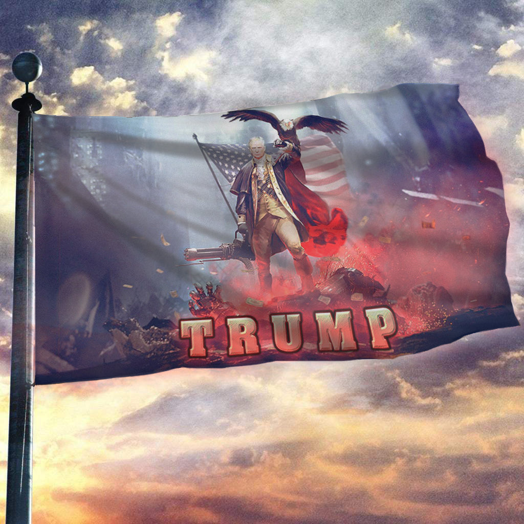 Trump 2020 Keeping America Great - Star Spangled Flag
