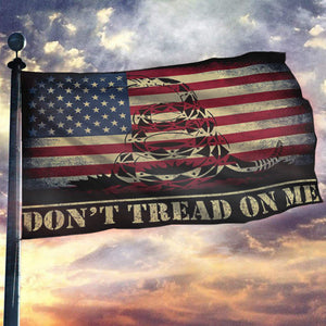 Don't Tread On Me USA Flag