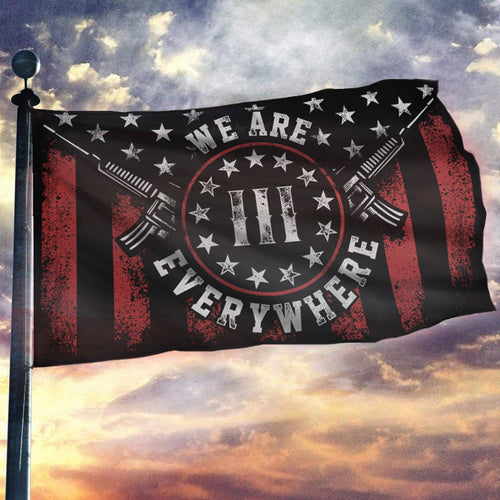 Don't Tread On Me We Are Everywhere Flag