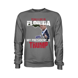 Yeah I Live in Florida And My President is Trump-USA Colorways