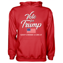 Load image into Gallery viewer, Vote Trump USA Keep America Great - Apparel