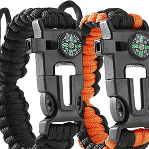 Survival Paracord Bracelet High Quality for Outdoor