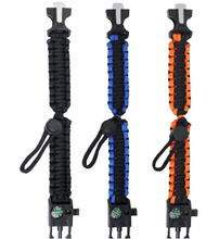 Load image into Gallery viewer, Survival Paracord Bracelet High Quality for Outdoor