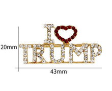 Load image into Gallery viewer, Trump Pins - I Love Trump 2020 Pins Bundle Deals - 10% UP TO 30% OFF EACH BUNDLE