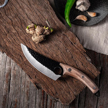 Load image into Gallery viewer, Serbian Kitchen Cooking Knife and Sheath