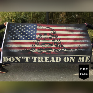 Don't Tread On Me USA 4x6 and 5x8 Flag