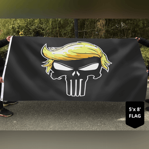 Trump Punisher Flag