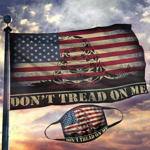 Don't Tread On Me USA Flag (NEW BUNDLE)