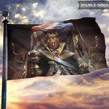 Load image into Gallery viewer, King Trump 2020 - American Flag