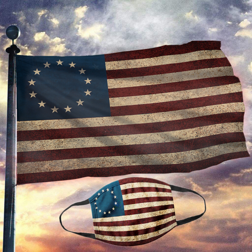 American Flag - Betsy Ross Flag (NEW BUNDLE)