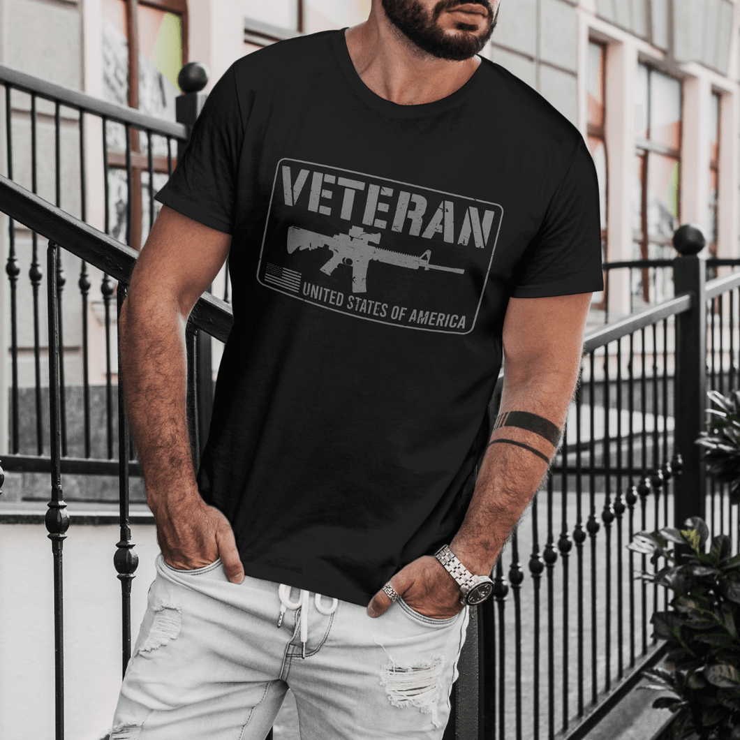 United States of America Veterans - Apparel of Men's Shirt, Sweatshirt, Hoodie and Tank Top