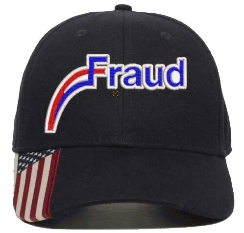 Fraud Embroidered Hat