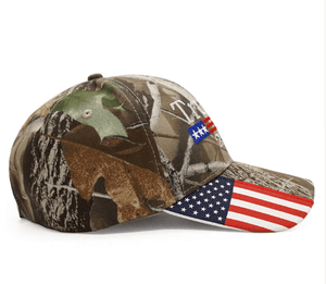 1-Trump 2020 Camo Hat w Free Shipping