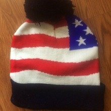 Load image into Gallery viewer, Trump 2020 EAGLE Embroidered Keep America Great Winter Beanie
