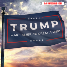 Load image into Gallery viewer, Trump Flag Make America Great Again