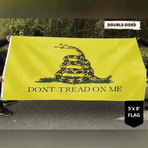 Gadsden Flag - DONT TREAD ON ME Flag