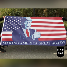 Load image into Gallery viewer, Trump President Make America Great Again Thumbs Up