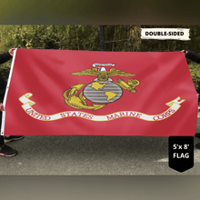 Load image into Gallery viewer, U.S Marines Marine Corps - USMC Semper Fi Flag