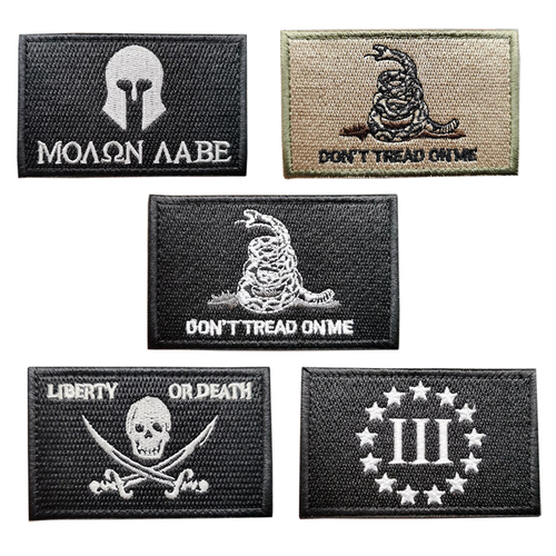 2A Embroidered Tactical Clothing Patch