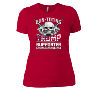 Gun toting Trump Supporter Boyfriend T-Shirt
