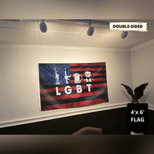 Load image into Gallery viewer, Trump 2020 Liberty Guns Beer Trump Flag