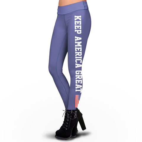 Pre-Release Trump 2020 Limited Edition Keep America Great American Flag - Sublimation Leggings