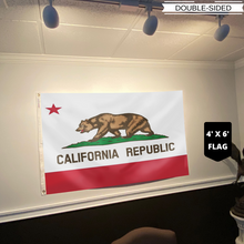Load image into Gallery viewer, California Republic Flag - Socal Flag