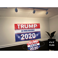 Load image into Gallery viewer, Keep America Great Flag - Trump No More Bullsh*t 2020 Flag (NEW BUNDLE)