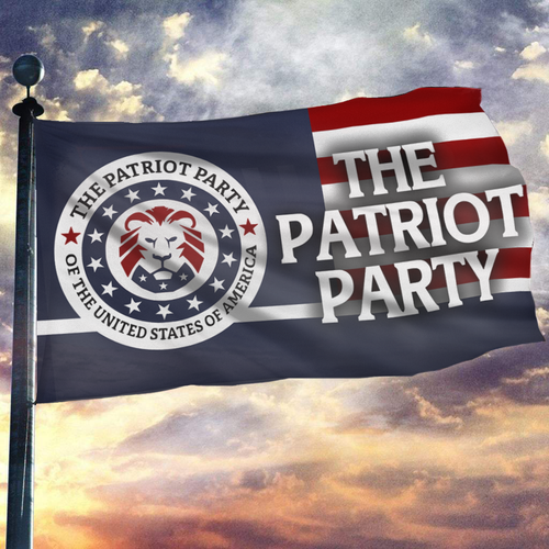 The Patriot Party USA Flag