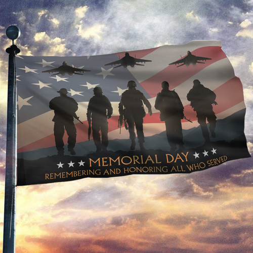 Memorial Day Flag - Remembering And Honoring All Who Served