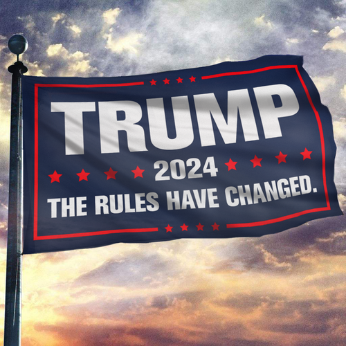 2024 - The Rules Have Changed Flag