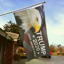 Load image into Gallery viewer, Trump 2020 KAG - American Eagle Flag