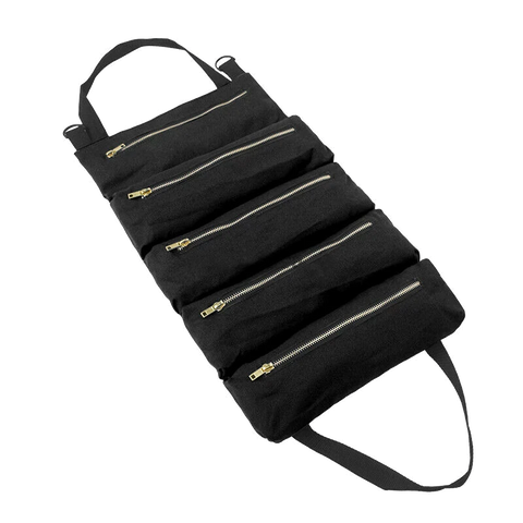 Car Tool Roll Up Bags Pouch Tools Sling Holder Organizer