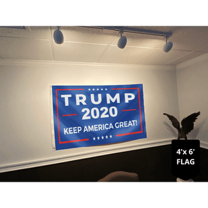 Trump 2020 Rally Flag - Keep America Great 4x6 and 5x8 Flag