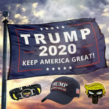 Load image into Gallery viewer, Trump 2020 Keep America Great 4Pc Rally Bundle
