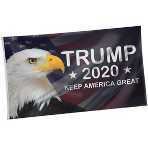 Pre-Release Limited Edition Trump 2020 KAG - Leggings - USA Colorway + 3x5 Keep America Great Eagle Flag