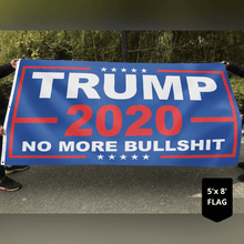 Load image into Gallery viewer, Limited Edition Trump Flags - No More Bull***t 2020 Flag