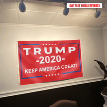 Load image into Gallery viewer, Keep America Great Trump 2020 - Red - Flag