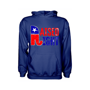 Raised Right - Apparel of Men's Shirt, Sweatshirt, Hoodie and Tank Top