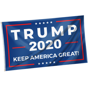 Pre-Release Limited Edition Trump 2020 KAG - Leggings - USA Colorway + 3x5 Keep America Great Flag + American Flag Lapel Pin