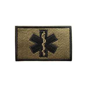 Medic Cross First Aid Embroidered Tactical Clothing Patch