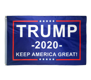 Trump 2020 White Flag Bill and Blue Flag Bill Hats - 2 Trump Hat + FREE Trump2020 Keep America Great Rally Flag Combo Deal