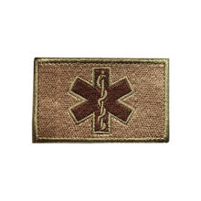 Load image into Gallery viewer, Medic Cross First Aid Embroidered Tactical Clothing Patch