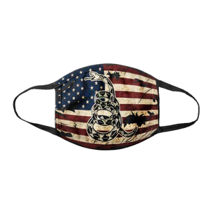 2A We The People - American Rifle Flag -  DTOM Vintage USA - Face Cover Bundle
